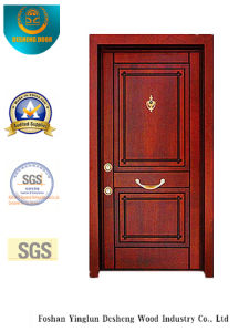 Security Steel Door for Home Without Carving (t-1011) pictures & photos