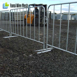 Steel Structure Hot Dipped Galvanized Temporary Crowded Control Pedestrian Barrier