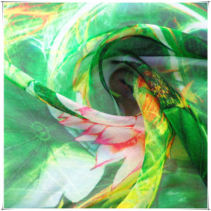 Printed Chiffon Silk for Dress Fabric pictures & photos