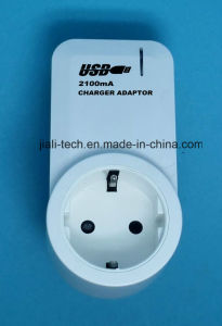 USB Charger Adaptor with Socket