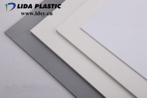 Extrude Grey Plastic PVC Rigid Sheet pictures & photos