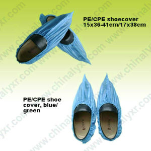 Ly Disposable CPE Shoe Cover (LY-PS-B) pictures & photos