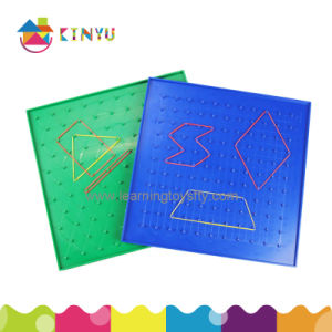 Plastic Geoboard for Math (K019) pictures & photos