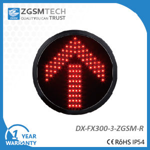 300mm 12 Inch Red Arrow Signal Light