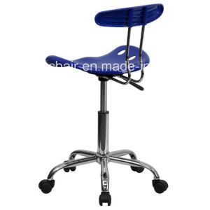 Nautical Blue and Chrome Computer Task Chair with Tractor Seat Zs-A8101 pictures & photos