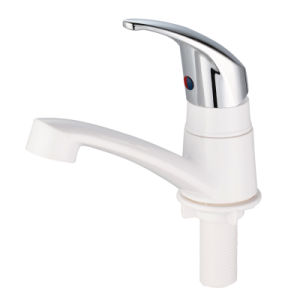 ABS Plastic Basin Water Tap with Chrome Finished pictures & photos