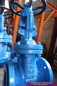 API 600 Wedge Gate Valve Class150-Class150 Wcb/Wc6/Wc9 pictures & photos