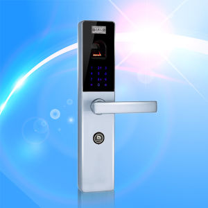 Fingerprint Recognition Door Lock (UL-680) pictures & photos