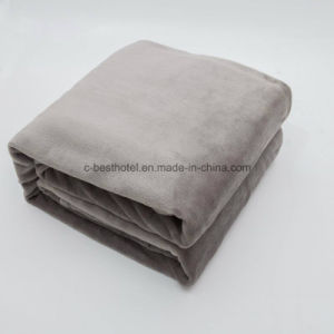 Hotel Polyester Blanket, Hospital Polyester Blanket pictures & photos
