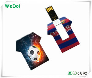 Promotional T-Shirt Card USB Stick Wth 1 Year Warranty (WY-C15) pictures & photos