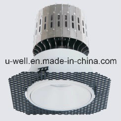 Frameless LED Spot Light with White Housing
