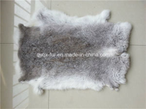 High Quality Real Rabbit Skin for Decoration