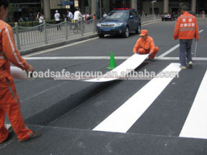 Thermoplastic Indicator Sign Road Marking Adhesive Warning Line Tape pictures & photos