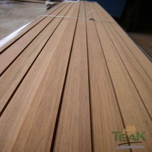 Durable Anti-Slip Outdoor Teak Hardwood Decking