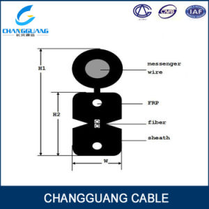 Manufacturer Supply Hot Sales G657/G652D Competitive Price Fibre Cable Outdoor Use GJYXFCH