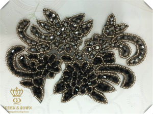 Unique Bridal Wedding Dress Rhinestone Trim Belts, DIY Accessories