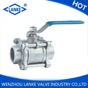 "1/2"" Three Piece Ss316 Butt-Welding Ball Valve"