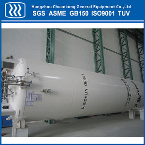 Horizontal Cryogenic Liquid Oxygen Nitrogen Argon CO2 Tank pictures & photos