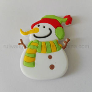 Wholesale Christams Snowman Fridge Magnet for Promotional Gifts pictures & photos