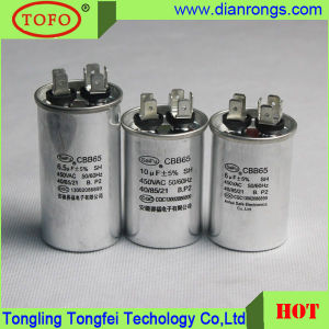 Single-Phase Cbb65 Capacitor 40/70/21 50/60Hz pictures & photos