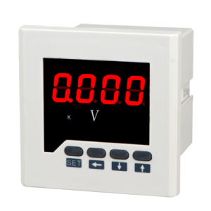 RS485 Communication Digital Voltage Meter pictures & photos