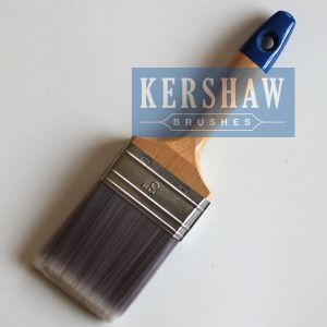 Paint Brush (Flat Brush with Synthetic filament, beech wood) pictures & photos