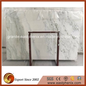 Polished White Marble Slab for Wall Tile