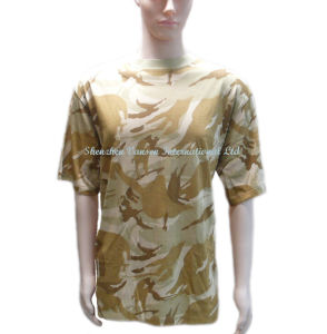 Cheap Price Good Quality Men′s T-Shirt for Military pictures & photos