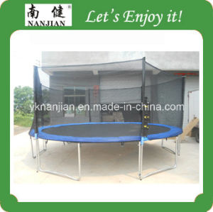 Top Quality Outdoor Trampoline with Net and Ladder with Shoesbag Set for Sale, 4.57m 15ft pictures & photos