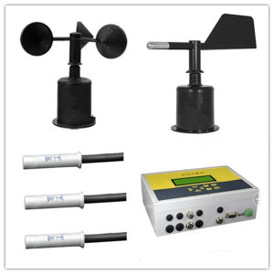 Thc Automatic Wireless Weather Station with Wind Speed Sensor