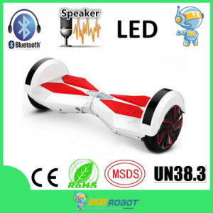 "8"" Wheel Samsung Battery Mini 2 Wheel Hoverboard with LED Lights, Bluetooth Speaker"