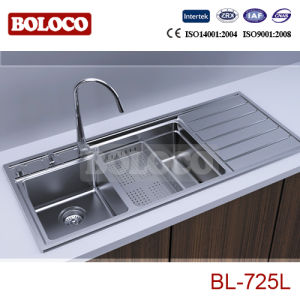 China High Quality Stainless Steel Kitchen Sink Bl-725L - China ...