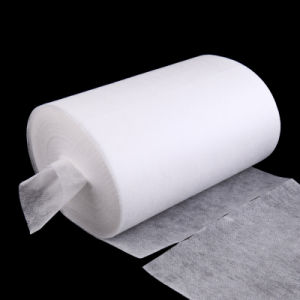 Perforated Thermobond Non Woven Fabric Roll Wiping Cloth pictures & photos