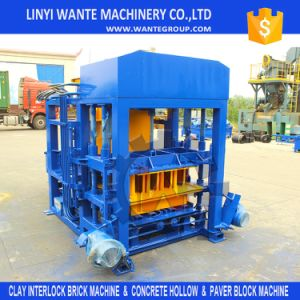 Most Searched Product Qt4-18 Fully Automatic Cement Concrete Hollow Block Making Machine pictures & photos