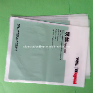Logo-Printed HDPE Plastic Flat Bag for Shopping Use pictures & photos