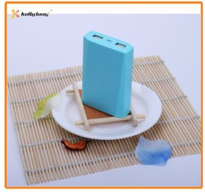 Two Output 6800mAh Mobile Power Bank with Power Indicator Light