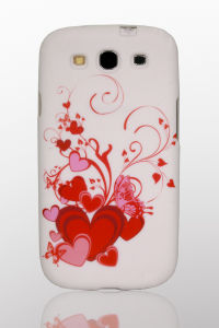 Coulorful Flower Design Mobile Phone Waterprinted TPU Case for Samsung Galaxy S3 I9300 pictures & photos