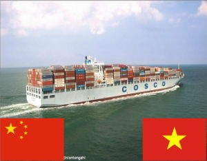 FCL Ocean Shipping Service From China to Vietnam