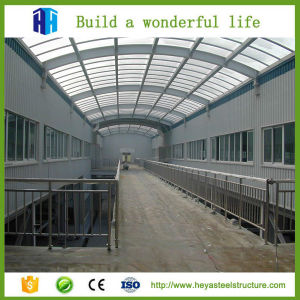 Low Cost Temporary Industrial Steel Structure Poultry Farm Shed Design