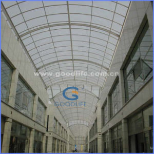 High Light Transmission 6mm Polycarbonate Greenhouse Roofing Sheet pictures & photos