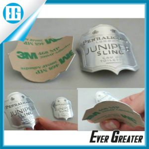 Aluminum Metal Badge with 3m Glue pictures & photos
