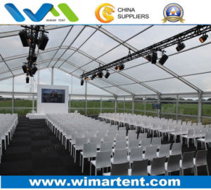 Transparent Arched Style Tents for Large Wedding and Corporate Event