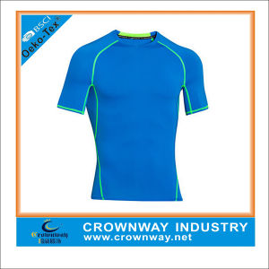 Wholesale Cheap Cute Fashion Compression Gym Shirt for Men pictures & photos