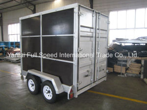Totally Enclosed Cargo Container Trailer pictures & photos