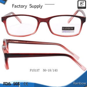 China Wholesale Cheap Changeable Plastic Optical Eyeglasses (P15137)