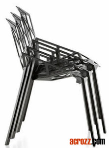 Metal Magis Steel Banquet Stackable Chair One Dining Chair pictures & photos