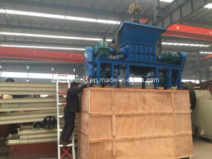 Tire Shredder Machine, Rubber Crusher Machine, pictures & photos