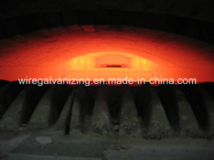 Wuxi Manufacturer Gas Open Fire Steel Wire Austenitization Furnace pictures & photos