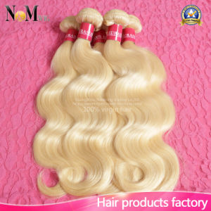 Soft and Smooth Blonde Virgin Brazilian Hair Honey Color #613 Blonde Hair pictures & photos