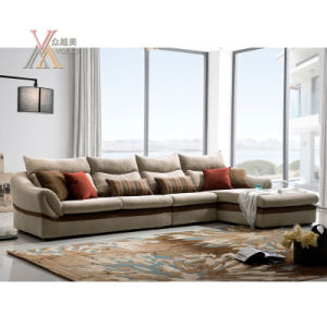 Modern Fabric Sofa Set with Cushion (1602)